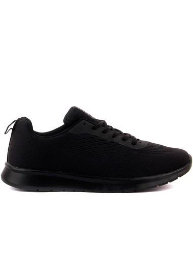 RYT Tokyo Memory Foam Taban Erkek Günlük Siyah Spor Ayakkabı Siyah